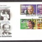 Scientists Gerti Cori, Linus Pauling, Edwin Hubble, John Bardeen, First Issue USA