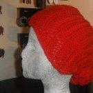 Crocheted head scarf