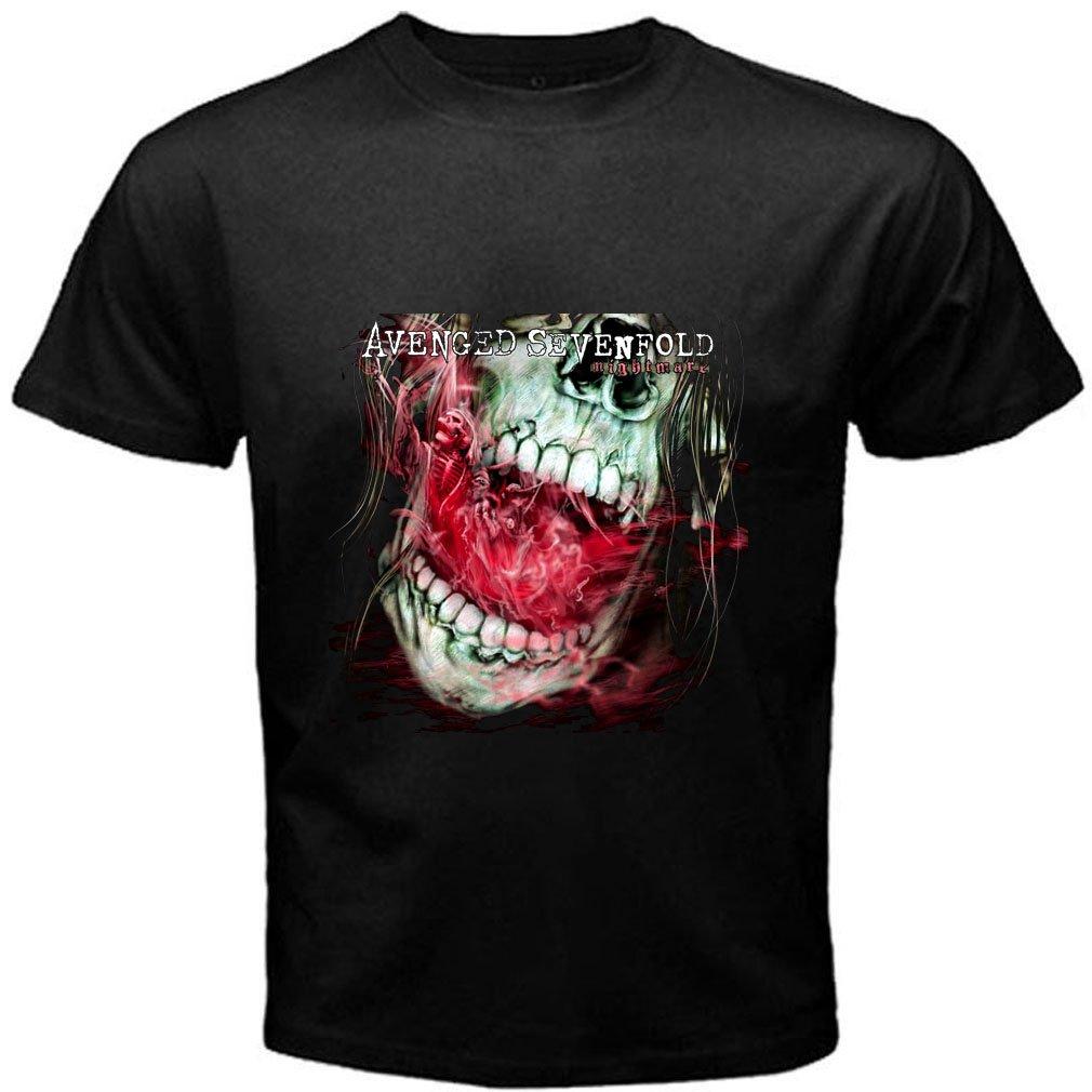 AVENGED SEVENFOLD Music Style 3 tee T shirt S M L XL 2XL Size