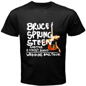BRUCE SPRINGSTEEN AND THE E STREET BAND WRECKING BALL TOUR CD 5style Tee T shirt S M L XL 2XL Size