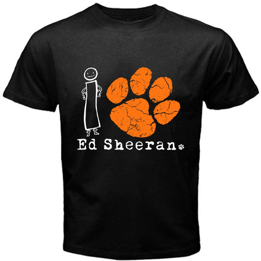 03 I Love I Paw Ed Sheeran T-Shirt CD Album MUSIC BAND CONCERT TOUR Tee T shirt S M L XL 2XL Size