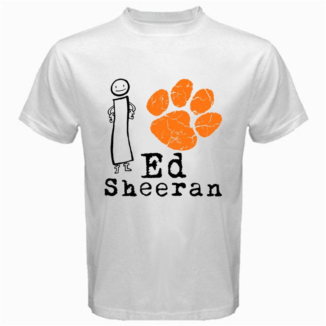 05 I Love I Paw Ed Sheeran T-Shirt CD Album MUSIC BAND CONCERT TOUR Tee T shirt S M L XL 2XL Size