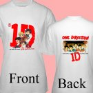 "1D One Direction ""Up All Night"" Music CD DVD Album Ticket Concert Tour T shirt S M L XL Size pic2"