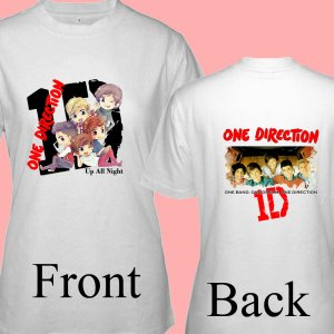 """1D One Direction """"Up All Night"""" Music CD DVD Album Ticket Concert Tour T shirt S M L XL Size pic3"""