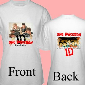 "1D One Direction ""Up All Night"" Music CD DVD Album Ticket Concert Tour T shirt S M L XL Size pic4"