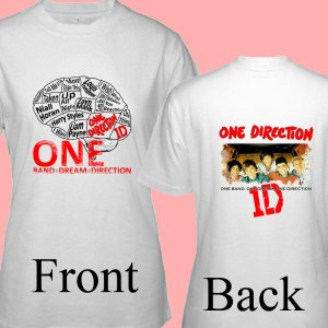 """1D One Direction """"Up All Night"""" Music CD DVD Album Ticket Concert Tour T shirt S M L XL Size pic7"""