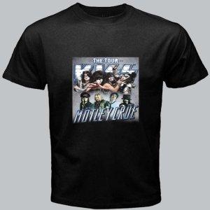 New Kiss Motley Crue Mötley Crüe The DVD CD Tour Date 2012 Tickets Tee T- Shirt pic1