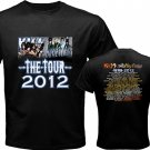 New Kiss Motley Crue Mötley Crüe pic8 DVD CD Tickets The Tour Date 2012 Tee T - Shirt