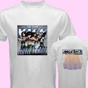 New Kiss Motley Crue Mötley Crüe pic19 DVD CD Tickets The Tour Date 2012 Tee T - Shirt