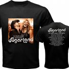 06 new Sugarland In Your Hand DVD Tickets Tour date 2012 Music Tee T - Shirt S M L XL Size