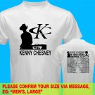 A08 Kenny Chesney No Shoes Nation Tour Date 2013 Tee T - Shirt SIZE S M L XL 2XL