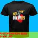 A01 Bon Jovi Because We Can Tour 2013 Tee T - Shirt SIZE S M L XL 2XL