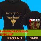 A07 Bon Jovi Because We Can Tour Date 2013 Tee T - Shirt SIZE S M L XL 2XL