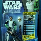 Clone Trooper HEVY in Training Armor Star Wars The Clone Wars Action Figure #CW41 2010