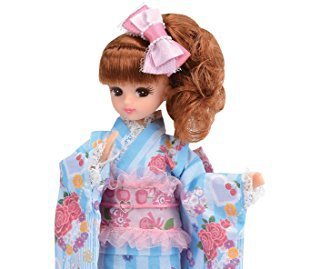 Rare Licca Chan Doll In Kimono Studio Alice by Takara Tomy Limited 9 Inches Doll