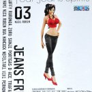 One Piece Jeans Freak Sexy DXF Figure Nico Robin 6.7 Inches Original Banpresto