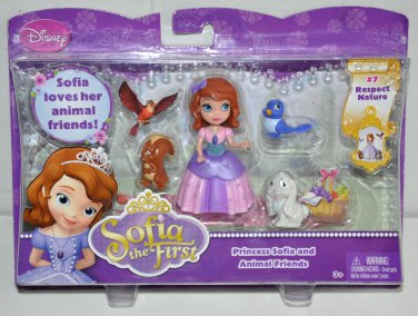 Disney Princess Sofia and Animal Friends Playset #7 Respect Nature Y6612 3 year
