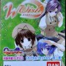 Rare BANDAI Gashapon Moe W Wish ANIME 4 Inches Figure Set of 4 Japanese School Girls