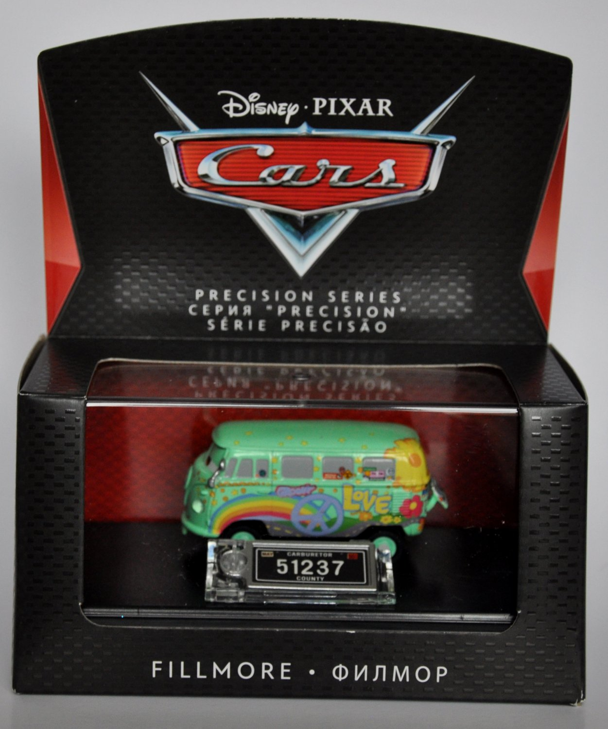 New Disney Pixar Die-Cast Cars Precision Series FILLMORE with Collector Case