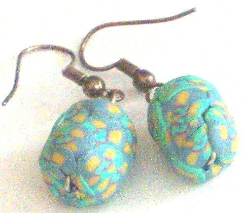 Unique Clay Creations Dangle Earrings