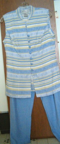 Dress Barn 2 Piece Pant Set ~ Size 8