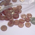 Brown Shirt Buttons  Over 100 Pcs  S125  tnk-ent