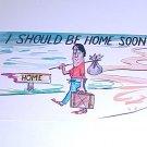 Vintage Humor Post Card postcard  #PCA  tnk-ent