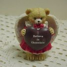 A Beary Chocolate Angel ENESCO  B629* tnk-ent