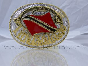 Brand New Trinidad and Tobago FLAG MEN BELT BUCKLE