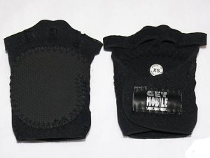 WorkOut Fitness Neoprene weight lifting gloves size (XS) black New
