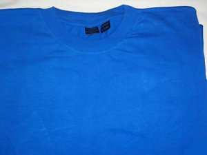 sky blue Mens Big & Tall long sleeve t-shirt New skyblue 4XL 4x