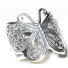 925 sold sterling silver gorgeous Butterly ring band jewelry 8.5