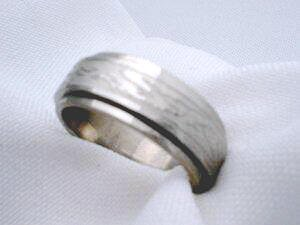 Stainless steel chinese dragon spin ring band jewelry size 9