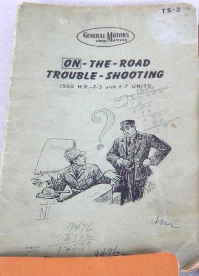 General Motors Locomotives Trouble Shooting Booklet 1949
