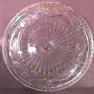 Large WHEEL CUT Crystal TRAY