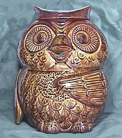 McCOY OWL COOKIE JAR