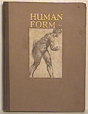 Book, Human Form In Art by Braun ©1926 RARE