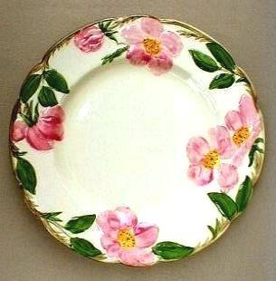 Franciscan Desert Rose Salad Plate Vintage
