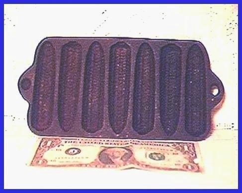 SMALL Cast Iron CORNSTICK PAN Ca.1920