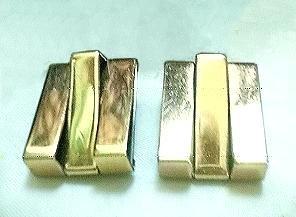 Retro Copper Earrings by Renoir Circa 1940s -1950s