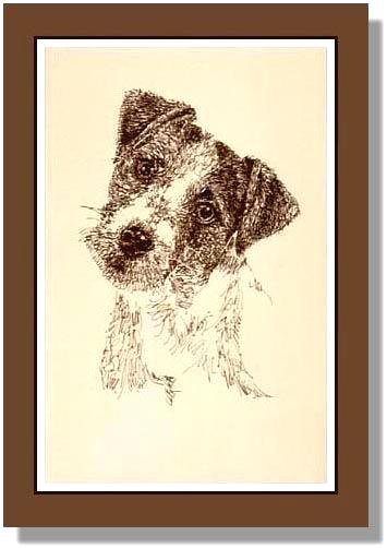 JACK RUSSELL TERRIER Limited Edition SIGNED LITHOGRAPH