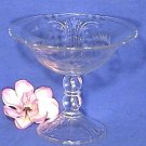 ART DECO Imperial WHEEL CUT Crystal COMPOTE