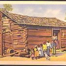 BLACK Americana Postcard COLOR PHOTO