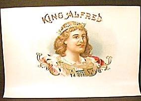 Vintage KING ALFRED Cigar LABEL (s)