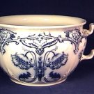 Flow Blue Chamber Pot Ford & Sons England