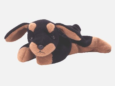 TY DOBY The DOBERMAN Teenie Beanie MWMT Ship $1.65