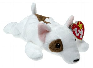 TY BUTCH The DOG Beanie Baby RETIRED Ship $3.25