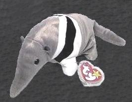 TY ANTS The ANTEATER Beanie Baby RETIRED Ship $3.25