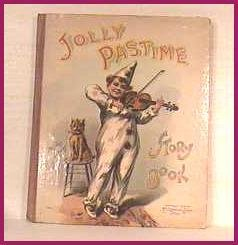Jolly Pastime Story Book 1905 RARE Ship $2.85