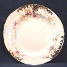 SIX Floral Tea Plates Circa 1896 England